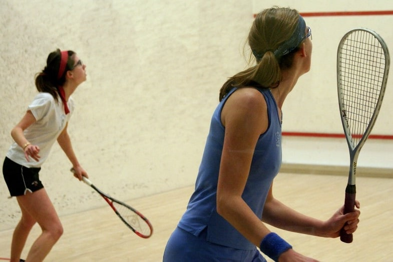 differences between squash and racquetball