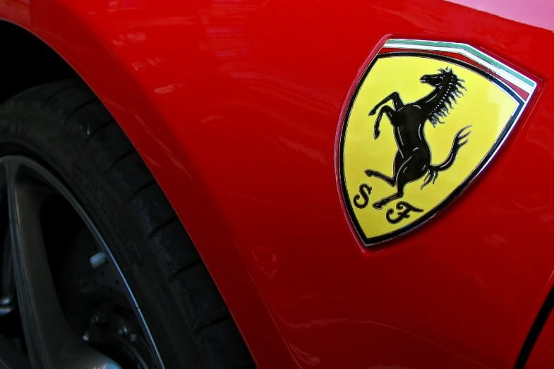 what does the ferrari symbol mean