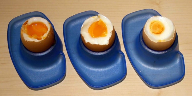 how long does it take eggs to boil