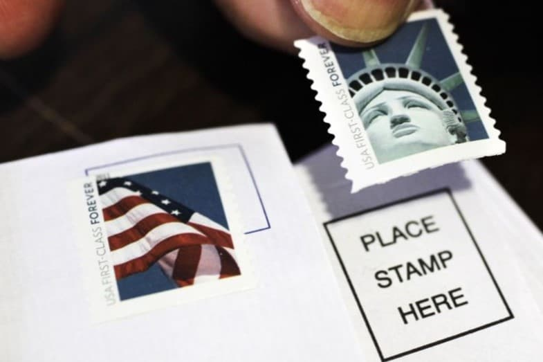 How Many Stamps Do I Need for a Letter - USPS - per Oz
