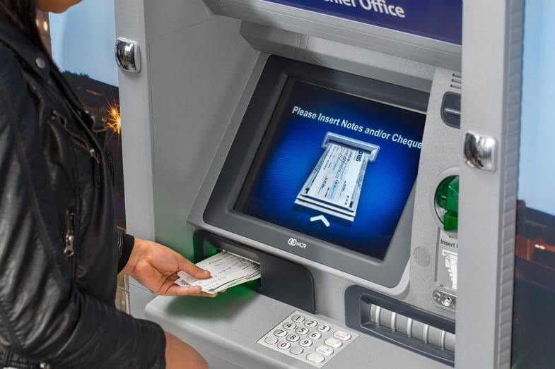can you cash a personal check at an atm