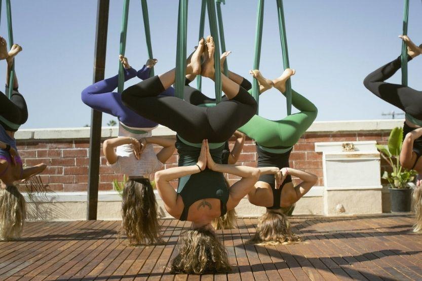 how long can you hang upside down