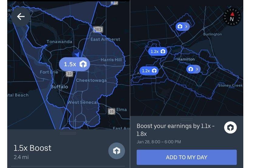 how much money do Uber Eats drivers make