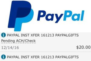 PAYPAL INST XFER – What Is This Charge?
