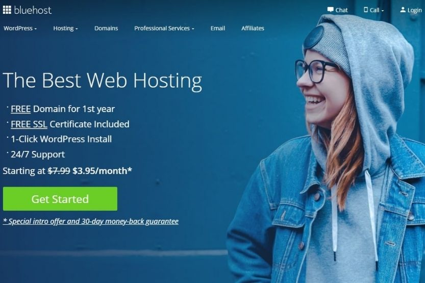 how does Bluehost work