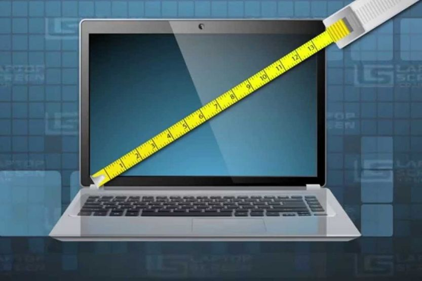 how to measure monitor size