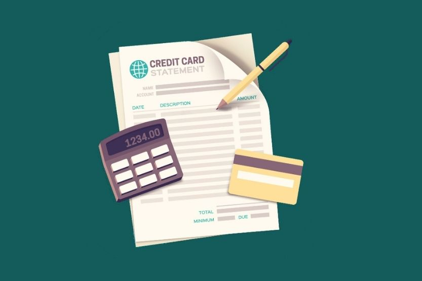 account number on credit card