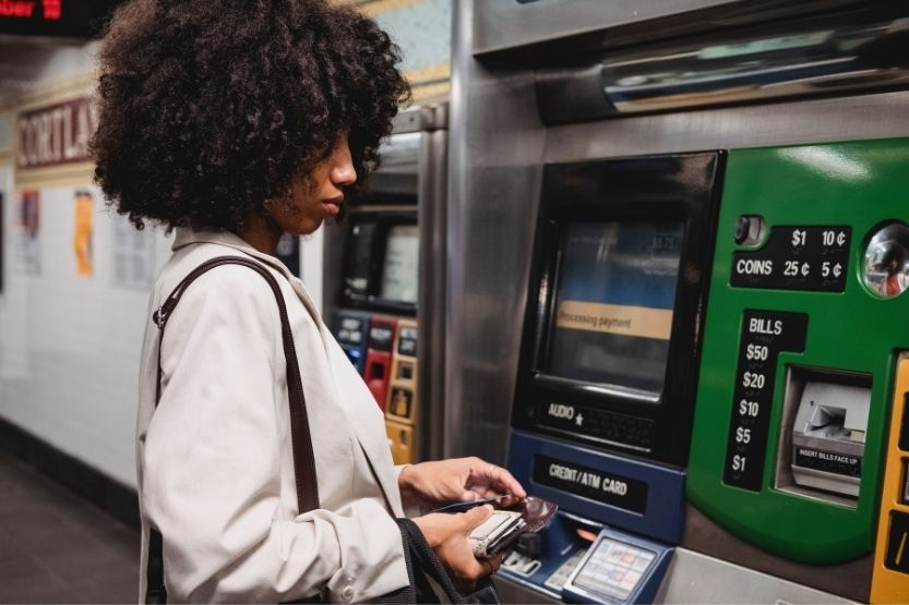 how to get cash from credit card without pin