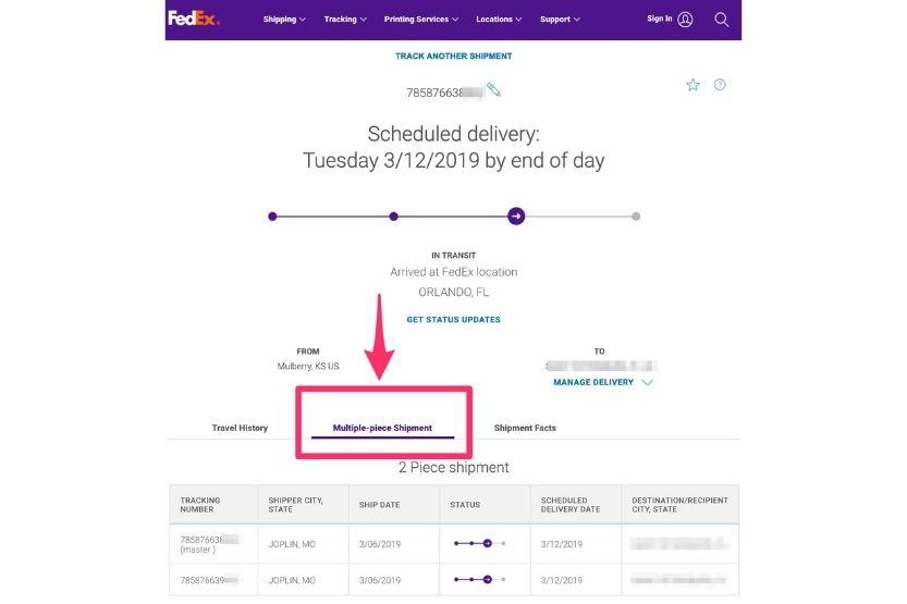 Indirect Signature Required - FedEx