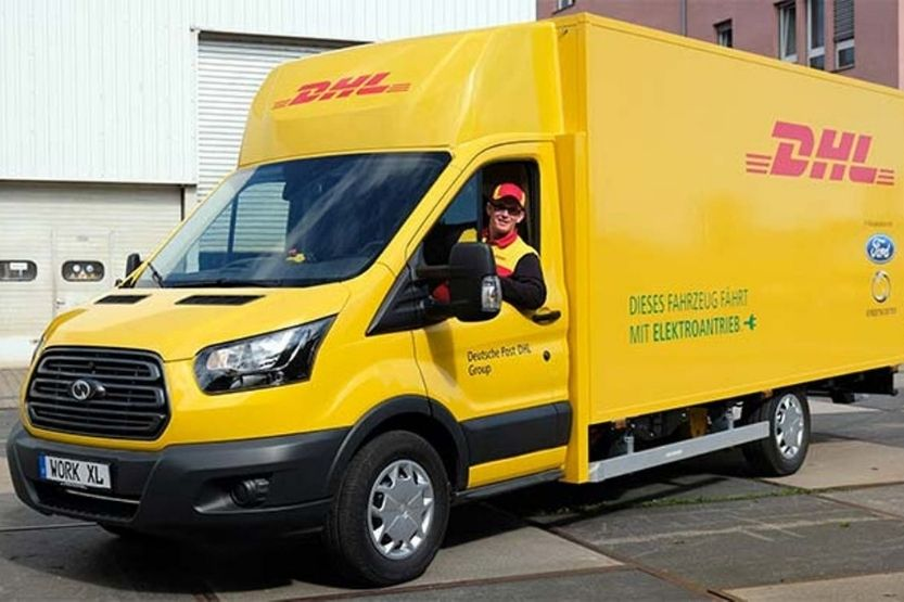 With Delivery Courier (DHL) - What Does It Mean?