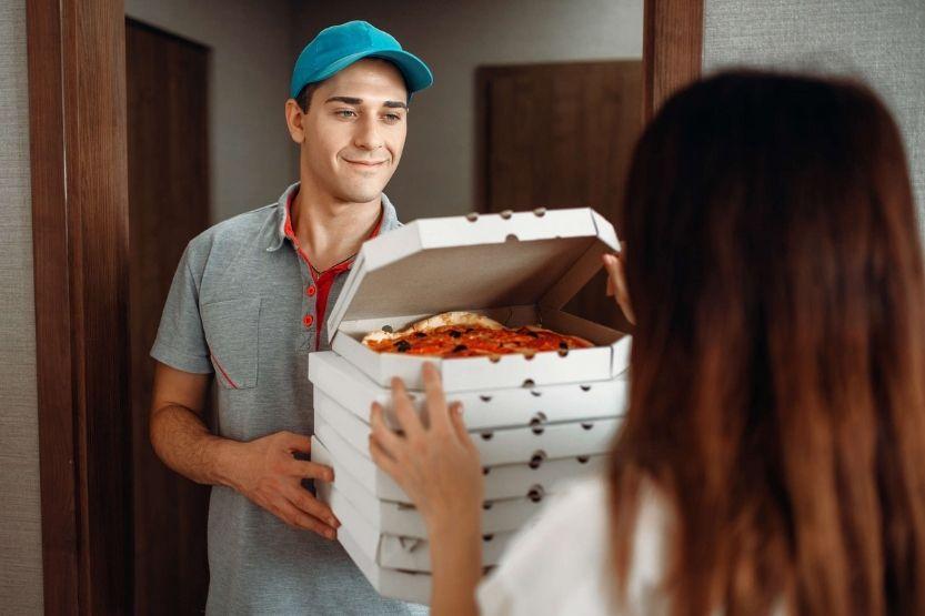delivery fee Papa John's