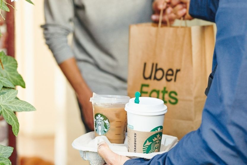 how much money can you make with uber eats