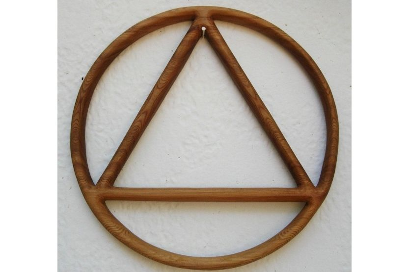 Triangle with Circle Inside Meaning [What Does This Symbol Mean?]